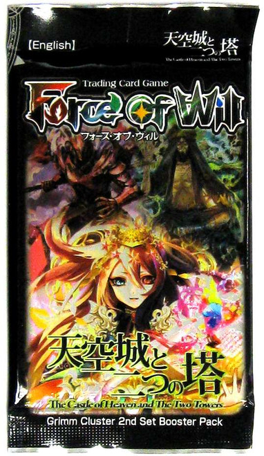 Force of Will Grimm Cluster Set 2 The Castle of Heavens and the Two Towers Booster Pack