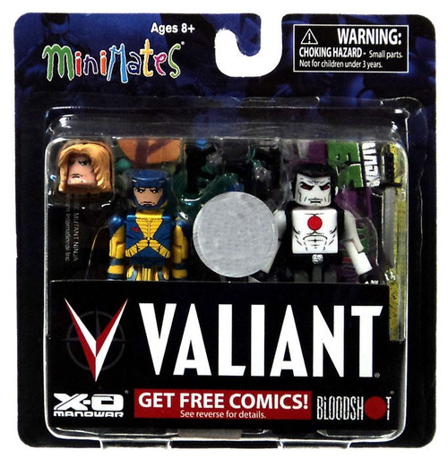 Valiant Minimates Bloodshot & X-O Manowar Exclusive 2-Inch Minifigure 2-Pack [Variant]
