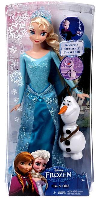 Disney Frozen Elsa & Olaf 12-Inch Doll Set