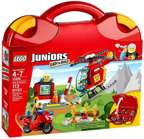 LEGO Juniors Fire Suitcase Set #10685