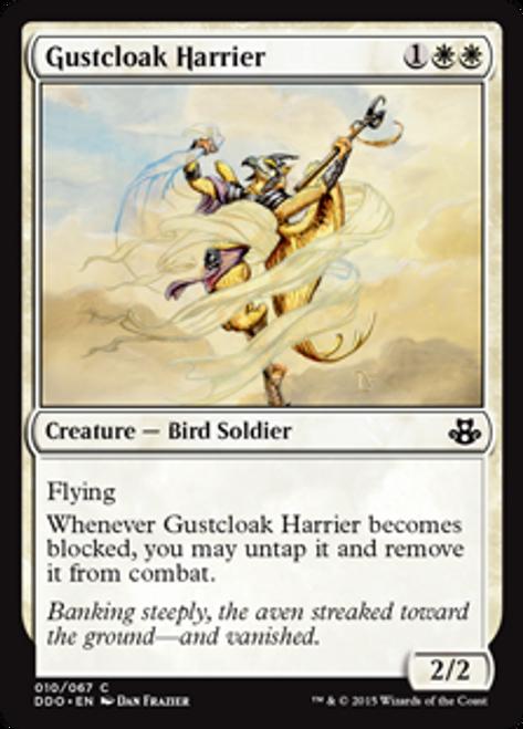 MtG Magic: The Gathering Duel Decks: Kiora vs. Elspeth Common Gustcloak Harrier #10