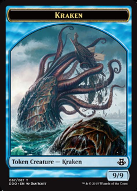 MtG Magic: The Gathering Duel Decks: Kiora vs. Elspeth Common Kraken #67