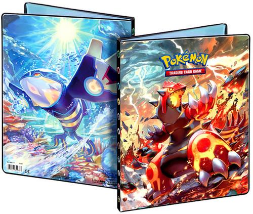 Ultra Pro Pokemon Trading Card Game Card Supplies Groudon & Kyogre 9-Pocket Binder