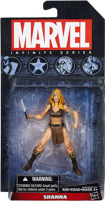 Marvel Avengers Infinite Series 5 Shanna the She-Devil Action Figure