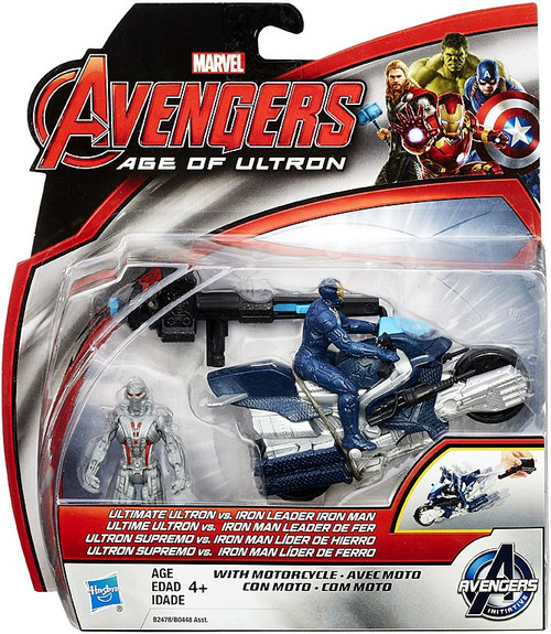 Marvel Avengers Age of Ultron Ultimate Ultron vs Iron Leader 2.5-Inch