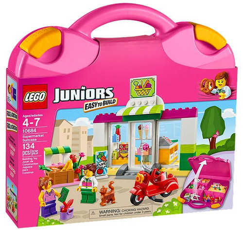 LEGO Juniors Supermarket Suitcase Set #10684