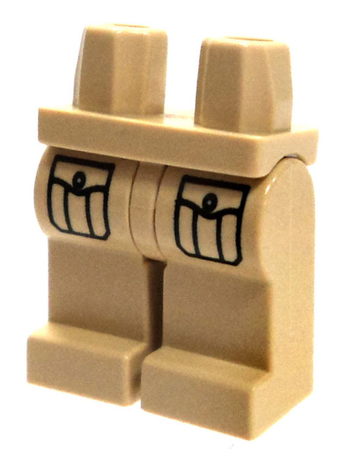 LEGO Tan with Cargo Pockets Loose Legs [Loose]