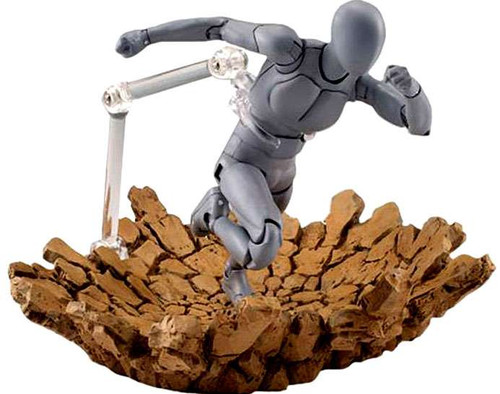 Tamashii S.H. Figuarts Effect Impact Action Figure [Beige Version]
