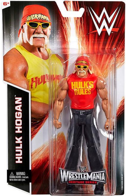 WWE Wrestling Wrestlemania Heritage Hulk Hogan Action Figure [Wrestlemania 30]