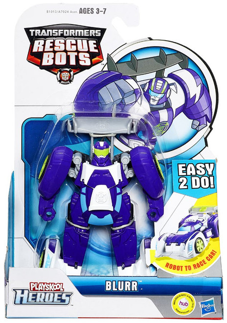 Transformers Playskool Heroes Rescue Bots Blurr Exclusive Action Figure