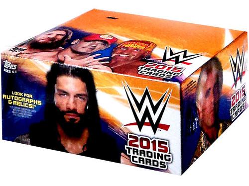 WWE Wrestling Topps WWE 2015 Trading Card RETAIL Box [24 Packs]