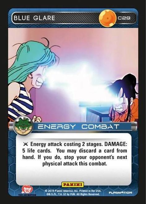 Dragon Ball Z CCG Heroes & Villains Common Blue Glare C29
