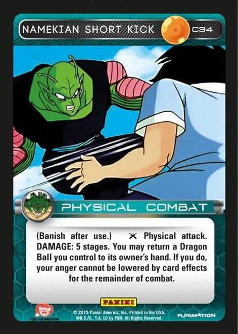 Dragon Ball Z CCG Heroes & Villains Common Namekian Short Kick C34
