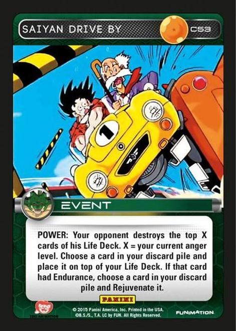 Dragon Ball Z Heroes & Villains Common Saiyan Drive By C53