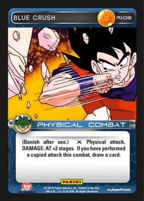 Dragon Ball Z Heroes & Villains Rare Blue Crush R109