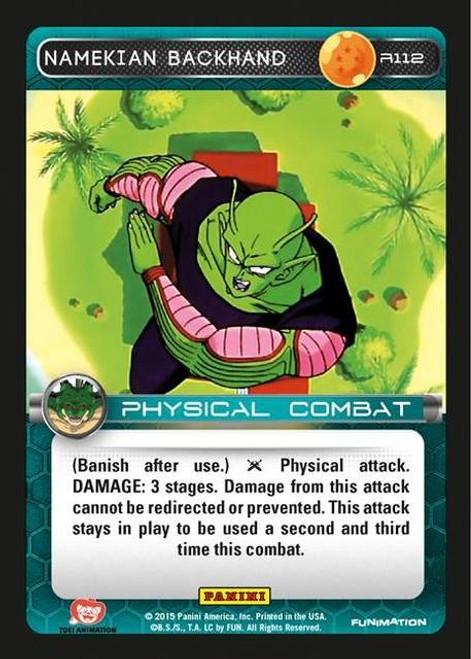 Dragon Ball Z CCG Heroes & Villains Rare Namekian Backhand R112