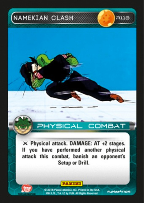 Dragon Ball Z Heroes & Villains Rare Namekian Clash R113