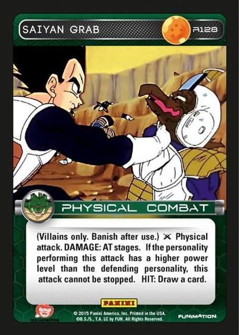 Dragon Ball Z Heroes & Villains Rare Saiyan Grab R128