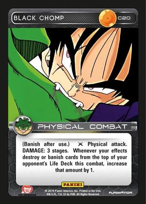 Dragon Ball Z Heroes & Villains Common Foil Black Chomp C20