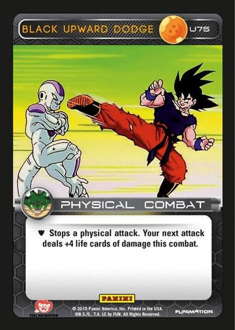 Dragon Ball Z CCG Heroes & Villains Uncommon Foil Black Upward Dodge U75