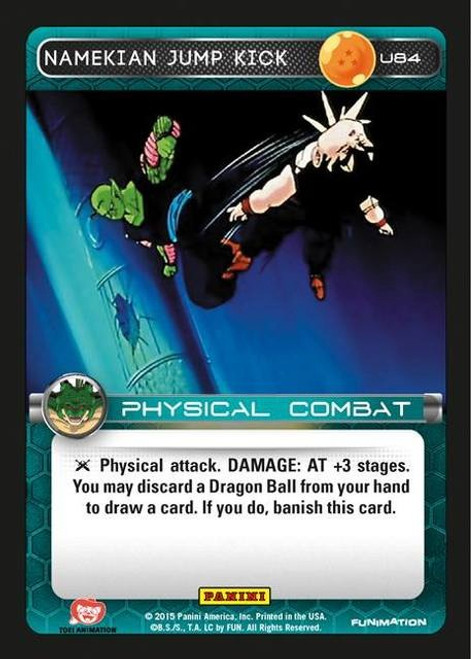 Dragon Ball Z CCG Heroes & Villains Uncommon Foil Namekian Jump Kick U84