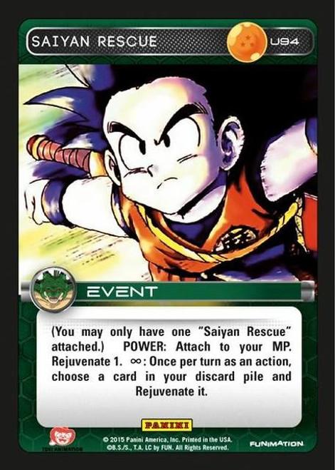 Dragon Ball Z Heroes & Villains Uncommon Foil Saiyan Rescue U94