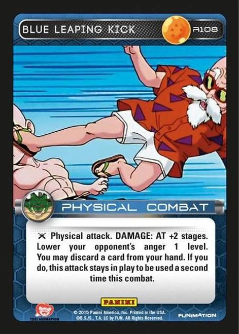Dragon Ball Z Heroes & Villains Rare Foil Blue Leaping Kick R108