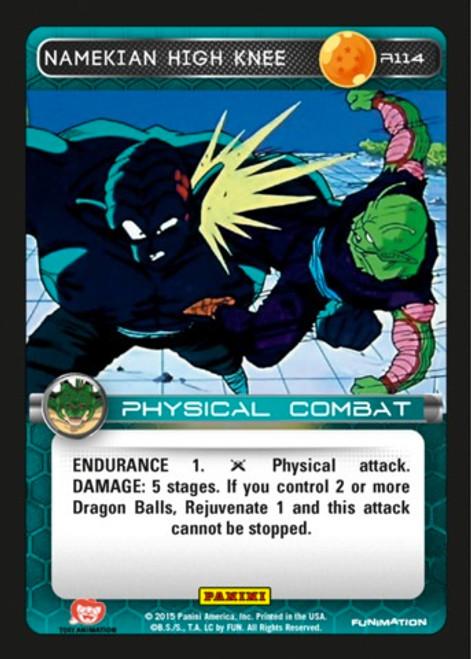 Dragon Ball Z CCG Heroes & Villains Rare Foil Namekian High Knee R114