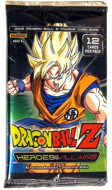 Dragon Ball Z Collectible Card Game Heroes & Villains Booster Pack