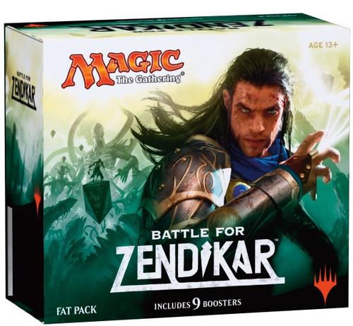 MtG Trading Card Game Battle for Zendikar Fat Pack