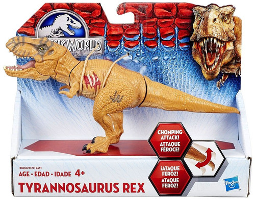 Jurassic World Bashers & Biters Tyrannosaurus Rex Action Figure [Brown]