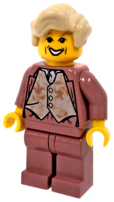 LEGO Harry Potter Gilderoy Lockhart Minifigure [Salmon Outfit, No Cape]
