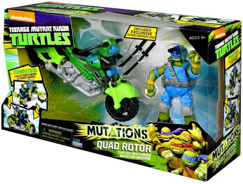 Teenage Mutant Ninja Turtles Nickelodeon Mutations Quad Rotor Action Figure Vehicle