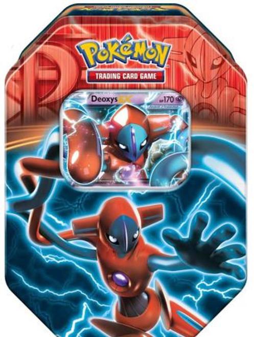 Pokemon Trading Card Game 2015 Deoxys Tin Set