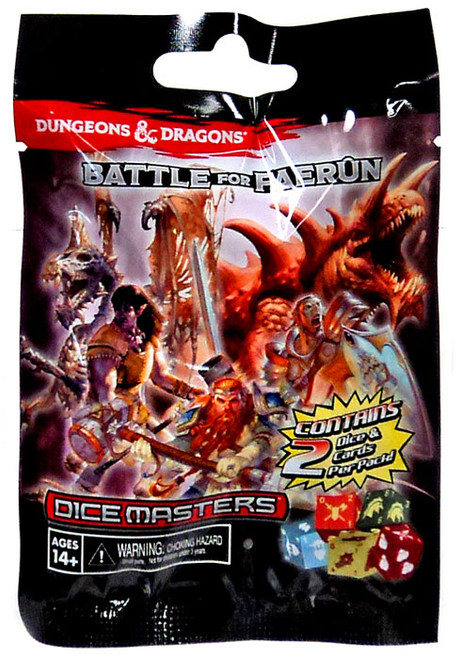 Dungeons & Dragons Dice Masters Battle for Faerun Booster Pack