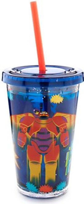 Disney Big Hero 6 Tumbler [With Straw]
