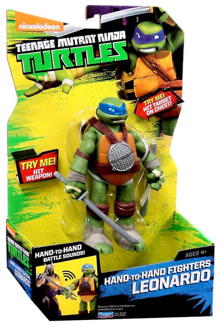 Teenage Mutant Ninja Turtles Nickelodeon Hand-To-Hand Fighters Leonardo Action Figure