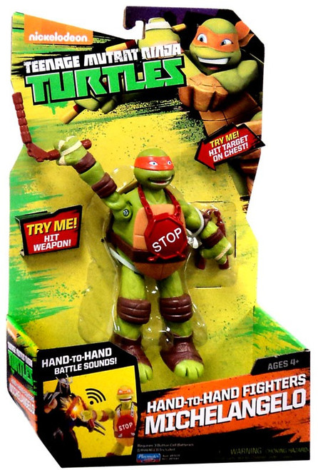 Teenage Mutant Ninja Turtles Nickelodeon Hand-To-Hand Fighters Michelangelo Action Figure