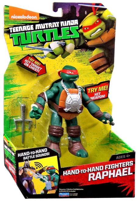 Teenage Mutant Ninja Turtles Nickelodeon Hand-To-Hand Fighters Raphael Action Figure