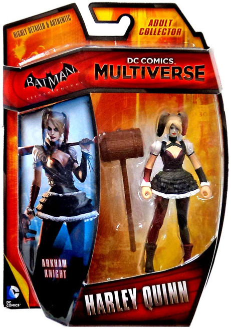 Batman Arkham Knight DC Comics Multiverse Harley Quinn Action Figure