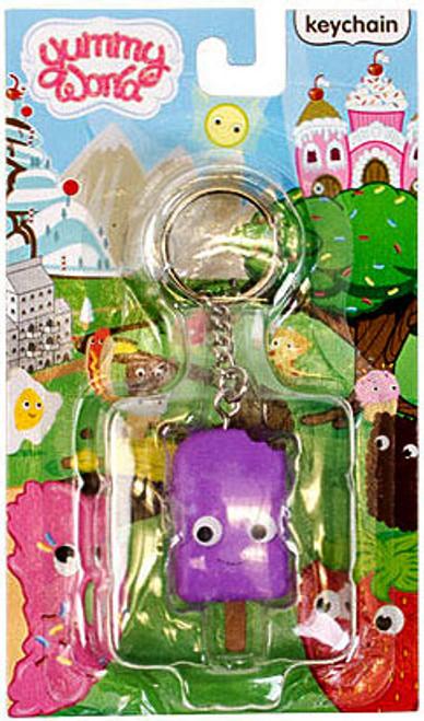 Yummy World Pudding Pop Keychain [Purple]
