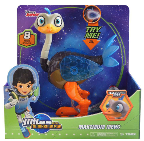 Miles From Tomorrowland Disney Junior Merc Deluxe Action Figure