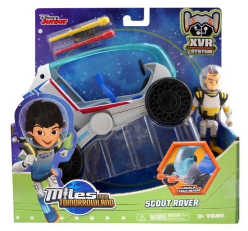 Miles From Tomorrowland Disney Junior Scout Rover Action Figure Vehicle