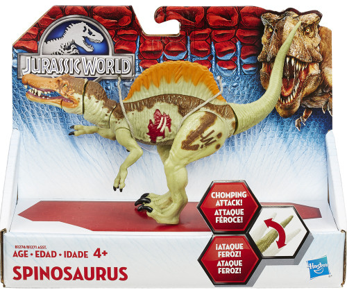 Jurassic World Bashers & Biters Spinosaurus Action Figure