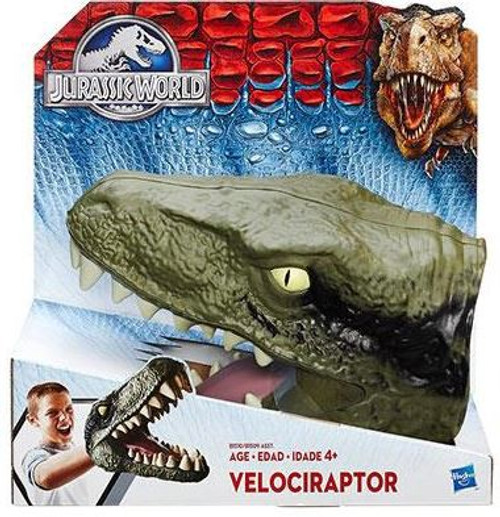 Jurassic World Chomping Raptor Gauntlet Roleplay Toy