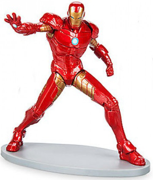 Disney Marvel Avengers Iron Man 3.5-Inch PVC Figure [Repulsor Blast Loose]