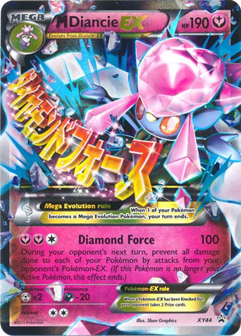 Pokemon X & Y Promo Ultra Rare M Diancie EX XY44