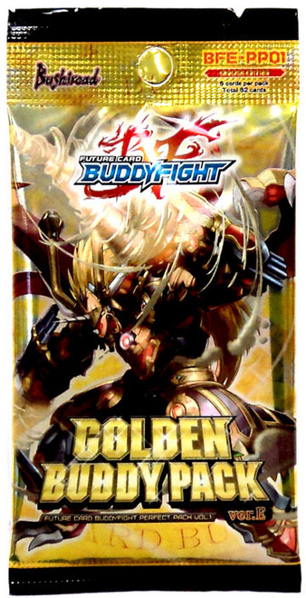 Future Card BuddyFight Trading Card Game Perfect Pack Vol. 1 Golden Buddy Pack Booster Pack BFE-PP01 Ver.E [6 Cards]