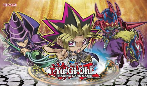 YuGiOh Duelist Kingdom Yugi Game Mat [Chibi ]