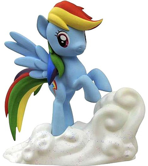 My Little Pony Friendship is Magic Rainbow Dash 7-Inch Vinyl Bank Statue